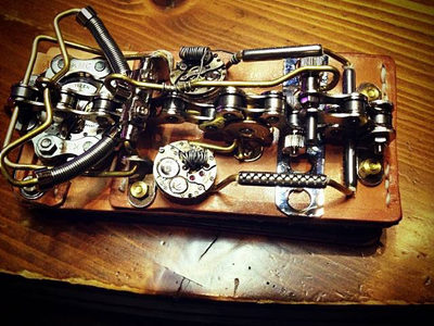 The Steampunk iPhone case