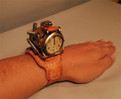 Steampunk-Watch-French-Bulldog