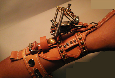 "Art Watch, Steampunk ""NINJA"""