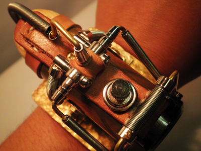 Steampunk-Watch-Pantograph
