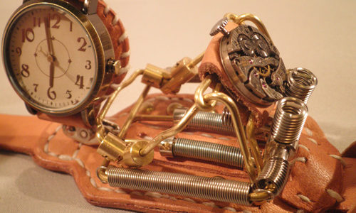 Mac Nakata Steampunk ART Watch