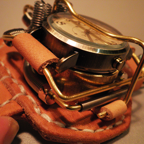 "Mac Nakata Art Watch, Steampunk ""No.2"""