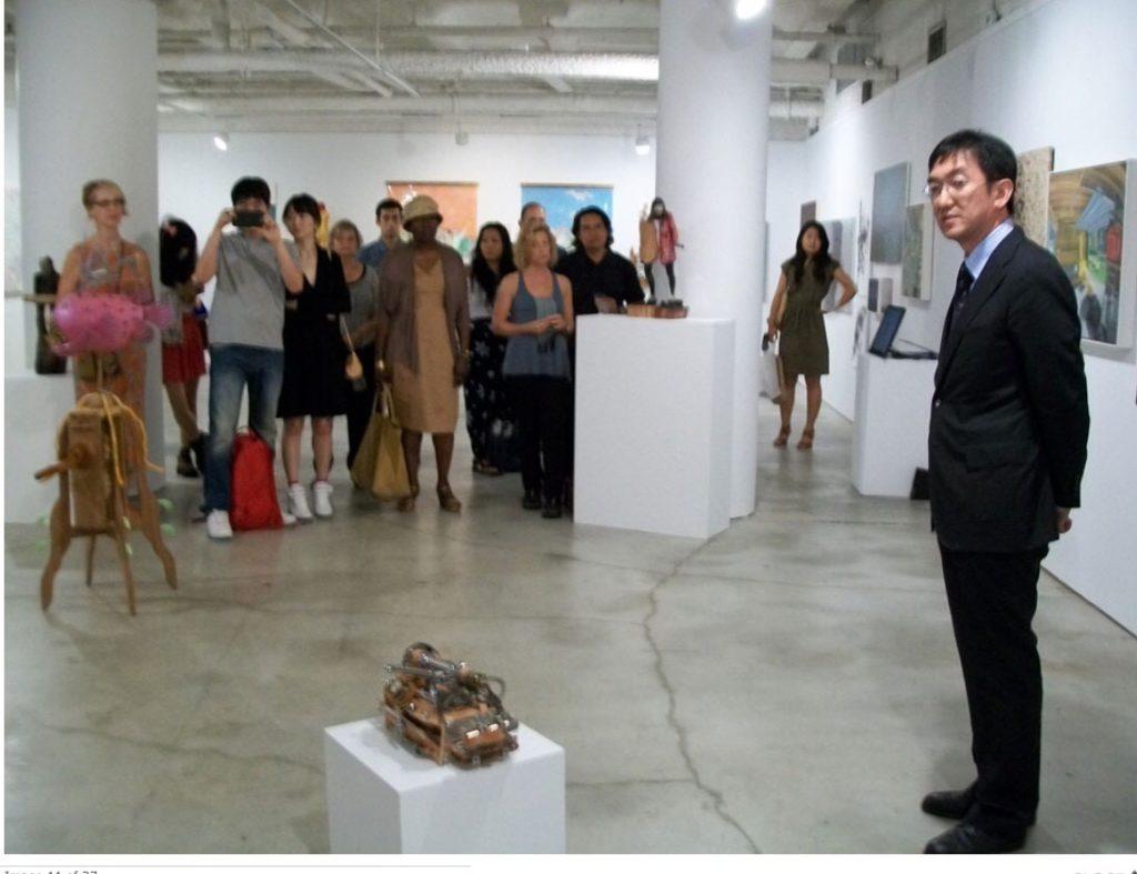 New York 現代アート入選